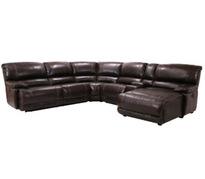 Sofa sectionnel inclinable comme neuf