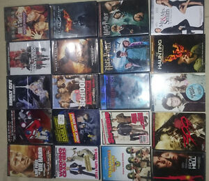 Assorted DVDS 1.50 each or 2 for 2
