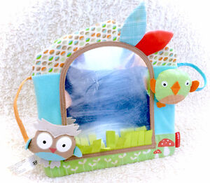 Skip Hop Treetop Friends Owl Activity Mirror Stand Alone Or Take
