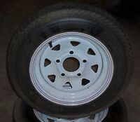 Trailer tires and rims - only $45 each or $80 for the pair