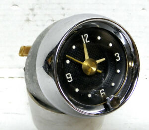 1957 58 Dodge Desoto Firedome Dash Clock Chrysler Mopar