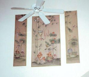 Oriental Murale Prints (set of 3) MOVING! MAKE ME AN OFFER Gatineau Ottawa / Gatineau Area image 2
