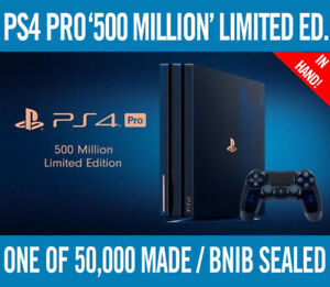 PS4 Pro 500 Million Limited Edition Console *BRAND NEW IN BOX*