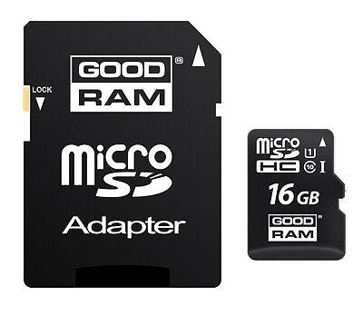 Galleria fotografica GOODRAM MICROSD 16 GB UHS I MICRO SD SDHC GARANZIA A VITA