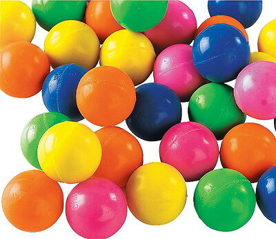 100 SOLID COLOR 27MM SUPERBALLS, HIGH BOUNCE, BOUNCY BALLS, SUPER FAST SHIPPING!