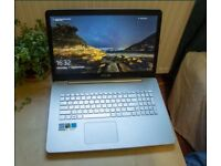Asus Vivobook Pro N752VX upgraded: i7-6700HQ, GTX 950m, 16GB RAM, 256GB ssd