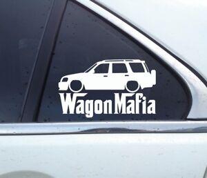 Lowered WAGON MAFIA sticker - for Honda CRV 1st gen (RD1–RD3)