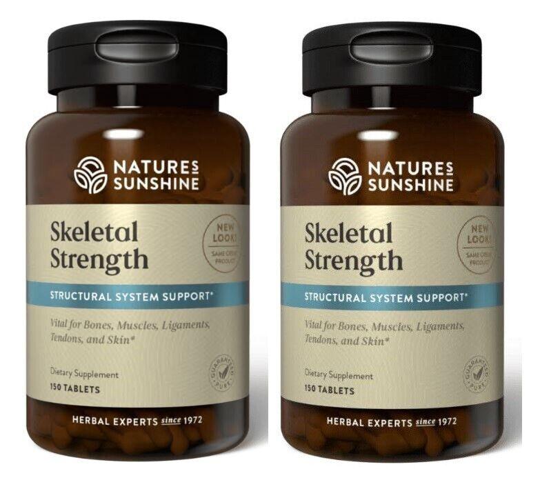Nature's Sunshine Skeletal Strength (150 Tablets)  / Free Ship