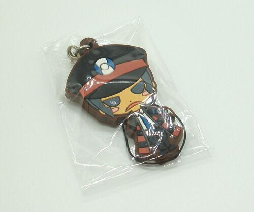 "Pokemon Mate Subway Ingo Black White rubber strap keychain figure charm 2"""