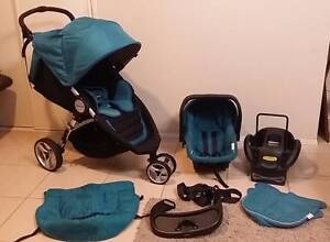 STEELCRAFT 2014 AGILE PLUS STROLLER and PRAM/CAR CAPSULE PACKAGE Coombabah Gold Coast North Preview