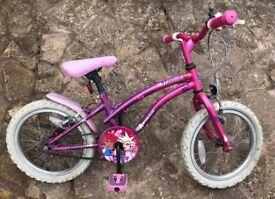 Young girls bike & cycle helmet