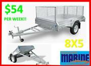 BRAND NEW 8X5 FULLY HOT DIP GALVANISED TILT BOX TRAILER!!!! Allenstown Rockhampton City Preview