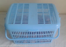 Multipurpose Plastic basket - lid & handle for house items, baby essentials etc.