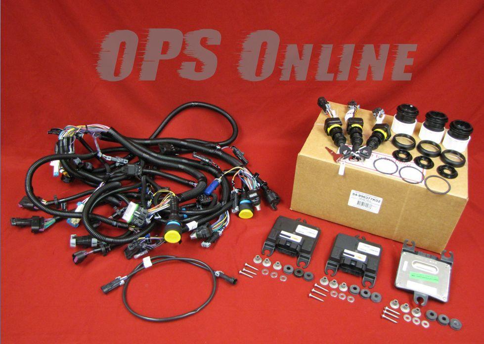 New OEM Mercury Verado Triple Console Binnacle Kit w/ DTS Rigging