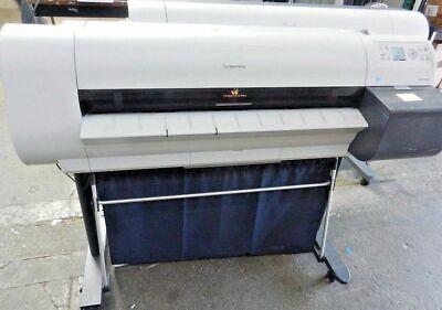 Canon Imageprograf Ipf710 36 Wide Large Format Big Inkjet Printer Plotter As-is