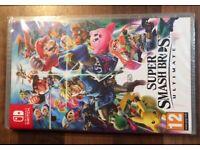 Super Smash Bros Ultimate Nintendo Switch Game •Brand New•