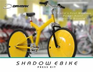 Shadow Ebike by Daymak