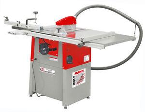 Holzmann Tischkreissäge TS250 400V + Schiebetisch, Tischverbreiterung