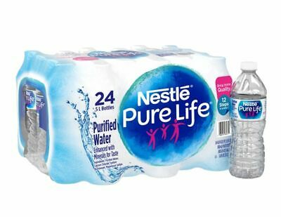Nestlé® Pure Life Purified Bottled Water, 16.9 Oz, Case Of 24 Bottles Bottled Water 24 Bottles
