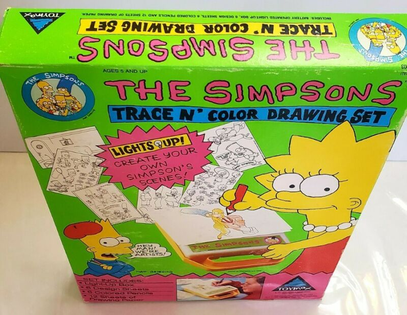 The SIMPSONS TRACE N