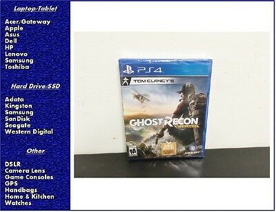 New Tom Clancy Ghost Recon  Wildlands Playstation 4  Factory Sealed