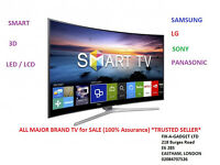 "Samsung | LG | Panasonic | Sony LCD LED Plasma Smart 3D Mix Tv for SALE ""USED with Guarantee"""
