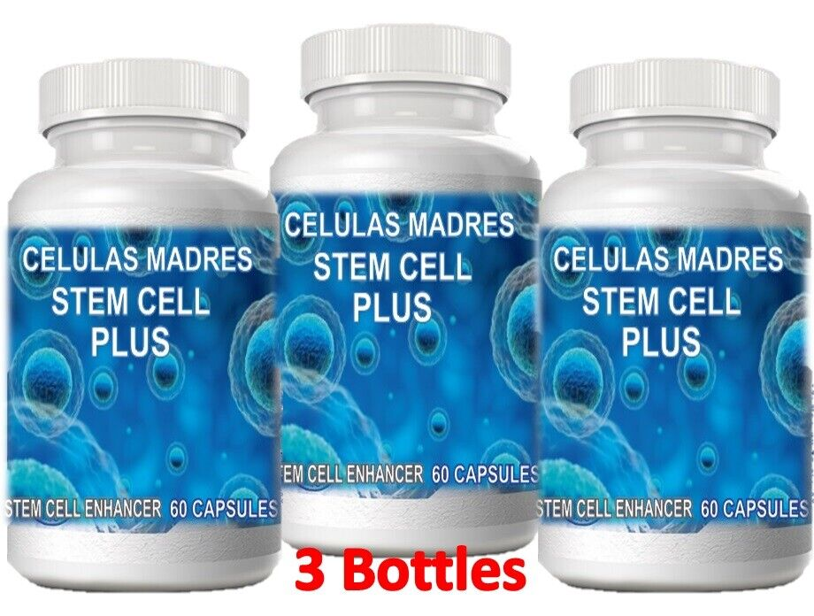 3 Celulas Madres GLUTEN FREE STEM Bioxcell Madre Cell Plus REGENERA 25 % OFF