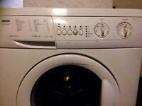 Washing machine Zanussi ZWF 1421W working or not I don't know as I replace when I move to flat