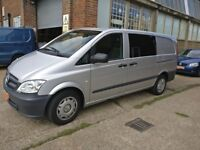 2015 Mercedes Vito 116cdi (Long) Dualiner Automatic