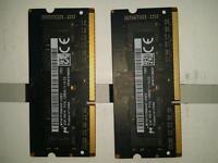 2x 2GB RAM DDR3