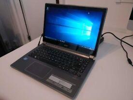 Acer Aspire V5 472P Intel i3 1.90 GHz, 4 GB RAM, Win 10 Home, 450 GB HDD