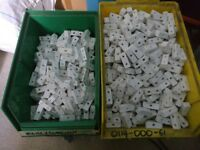 White Connector Blocks