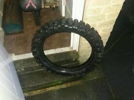 Motor bike crosser tyre 110|110\18