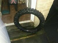 Motor bike crosser tyre 110 110\18