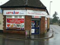 Convenience store , off licence for sale
