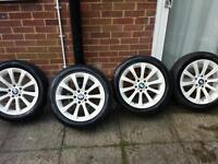 Bmw alloys wheels