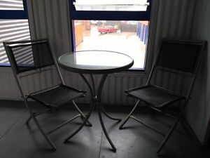 Beautiful SET With 2 CHAIRS & GLASS TABLE!!! Prospect Blacktown Area Preview