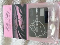 Job lot x50 hello kitty mp3 players new boxed
