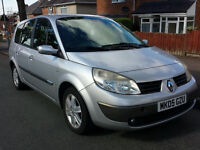 7 Seater. Renault Grand Scenic. 1.6 litre. Good drive. Long mot