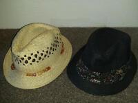 Ladies summer hats.