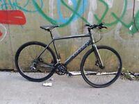 Mens carrera gryphon road bike hybrid bike