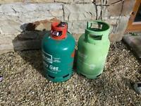 2 x patio gas bottles