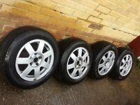 Vw golf alloy wheels bora passat sharan gap fillers spares