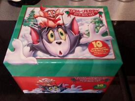 Tom and jerry box dvd set..10 dvds.