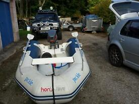 Honwave t25 inflatable dinghy