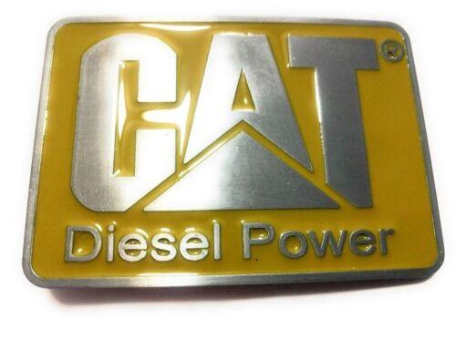 CATERPILLAR CAT DIESEL POWER  BELT BUCKLE CLASSIC LOGO MENS USA