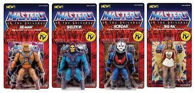 He Man Wave Vintage 4er Set Super7 Masters of the Universe MOTU - PRE ORDER