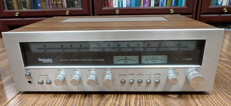 Technics SA-5360 FM/AM Stereo Receiver 38 Watts *VINTAGE* *CLEAN & WORKING*