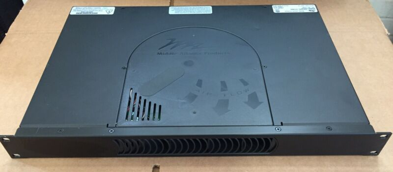 Middle Atlantic Products PDCOOL-1015RA Rackmount Power/Fan 120V~, 60Hz, 12A MAX