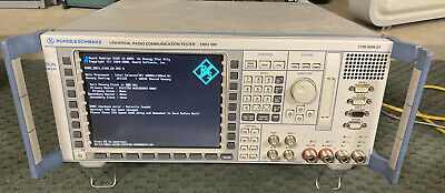 Rohde Schwarz Universal Radio Communication Tester Cmu 3000